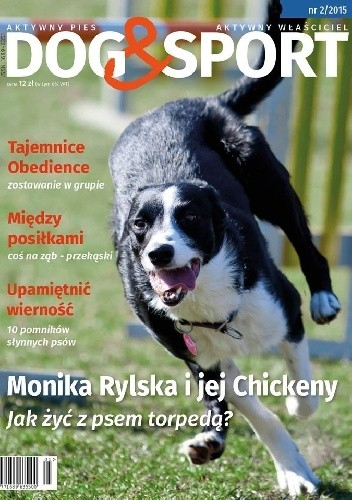 Okładka książki Dog&Sport, nr 2/2015