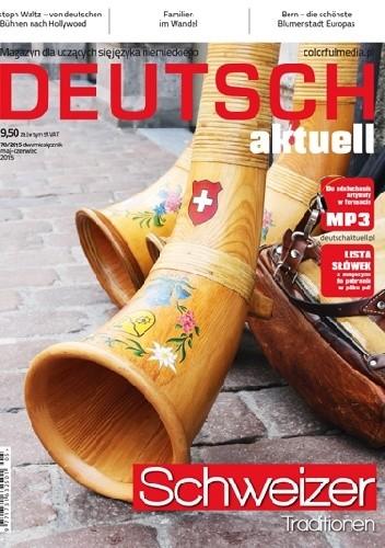 Okładka książki Deutsch Aktuell, 70/2015 (maj/czerwiec)