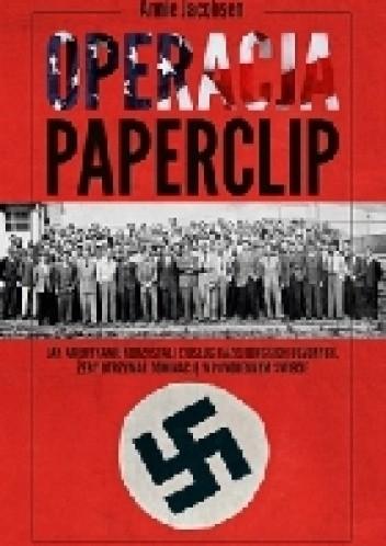 Okładka książki Operacja Paperclip