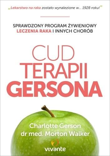 Okładka książki Cud Terapii Gersona