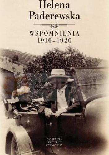 Okładka książki Helena Paderewska. Wspomnienia 1910-1920