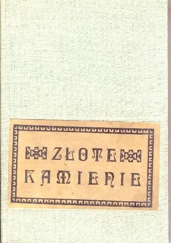 Okładka książki Złote kamienie. Dawne i nowe wiersze Azerbejdżanu