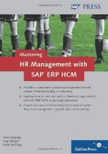 Okładka książki Mastering HR Management with SAP ERP HCM