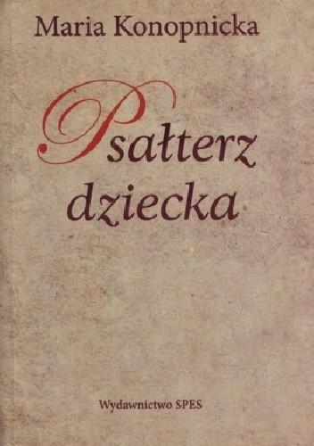 Okładka książki Psałterz dziecka