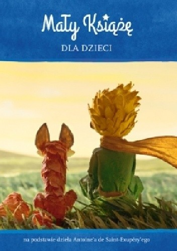 Okładka książki Mały Książę dla dzieci