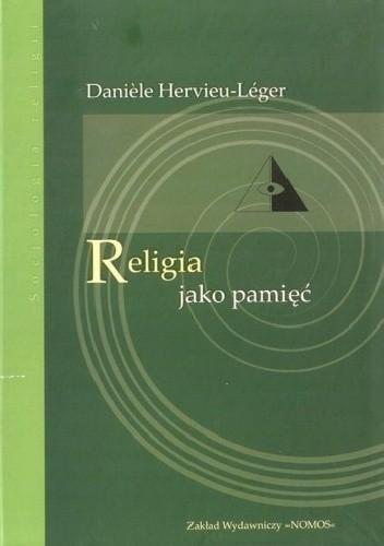 Okładka książki Religia jako pamięć