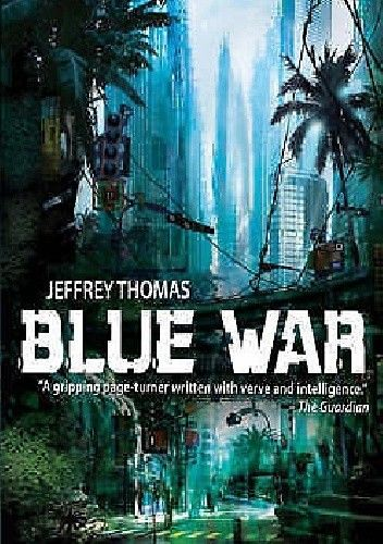 Okładka książki Blue War