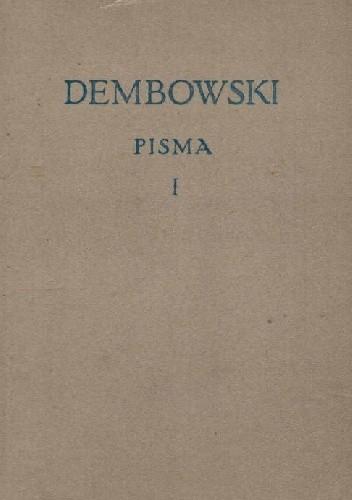 Okładka książki PISMA, TOM I