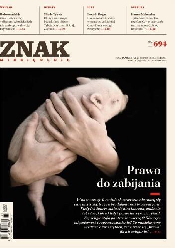 """Okładka książki Miesięcznik """"ZNAK"""", marzec 2013, nr 694"""