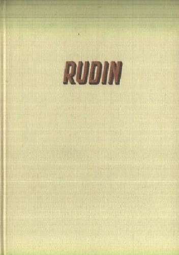Okładka książki Rudin