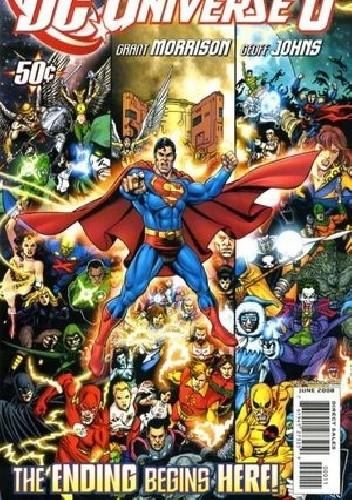 Okładka książki DC Universe 0 - Let There Be Lightning