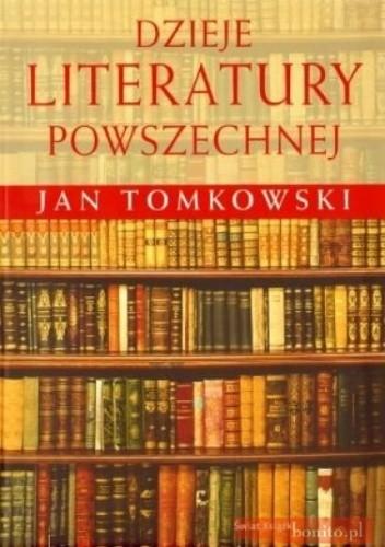 Okładka książki Dzieje literatury powszechnej