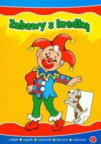 Okładka książki Zabawy z kredką 1