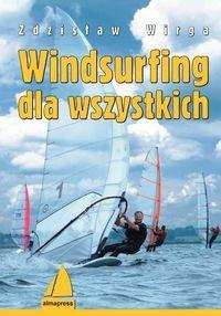 Okładka książki Windsurfing dla wszystkich /Książki dla żeglarzy