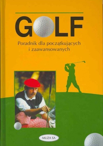 Okładka książki Golf-poradnik dla początkujących