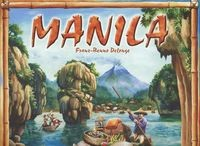 Okładka książki Manila - Delonse Benno Franz