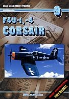 Okładka książki F4U-1, -4 Corsair. Tom 9