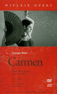 Okładka książki Carmen z DVD