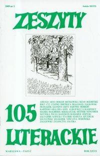 Okładka książki Zeszyty Literackie nr 105 (1/2009)