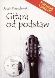Okładka książki Gitara od podstaw podręcznik /z CD