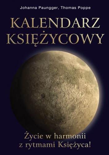 Okładka książki Kalendarz księżycowy Życie w harmonii z rytmem
