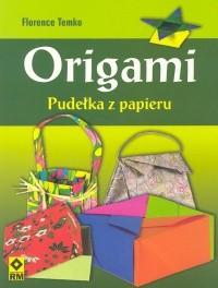 Okładka książki Origami. Pudełka z papieru