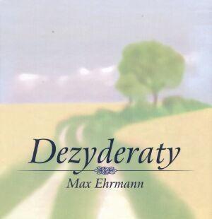 Okładka książki Dezyderaty