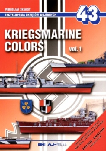 Okładka książki Kriegsmarine colors vol. 1