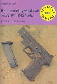 Okładka książki 9 mm pistolety wojskowe WIST 94 i WIST 94L