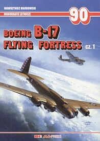 Okładka książki Boeing B-17 Flying Fortress cz.1