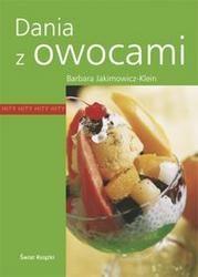 Okładka książki Dania z owocami
