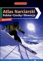 Okładka książki Atlas narciarski. Polska, Czechy Słowacja