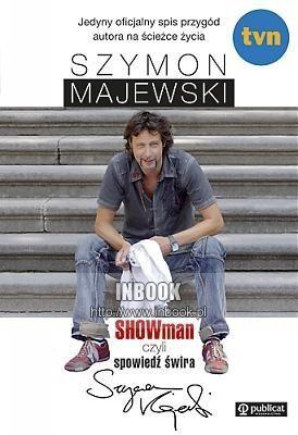 Okładka książki SHOWman, czyli spowiedź świra