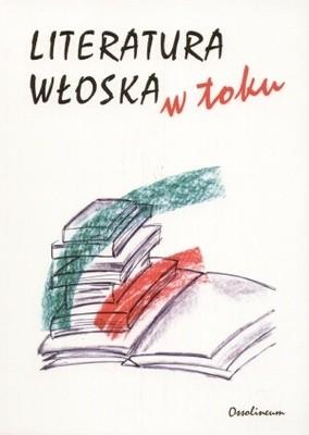 Okładka książki Literatura włoska w toku