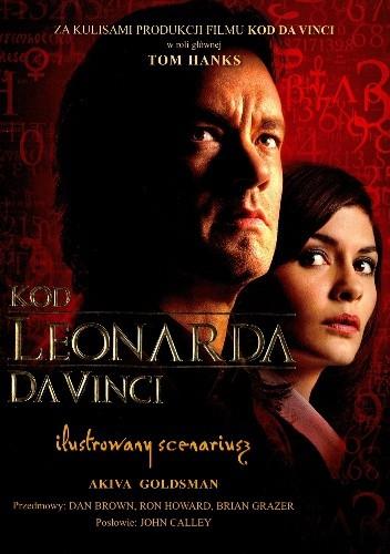 Okładka książki Kod Leonarda da Vinci. Ilustrowany scenariusz