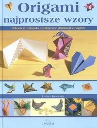 Okładka książki Origami Najprostsze wzory