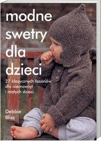 Okładka książki Modne swetry dla dzieci