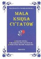 Okładka książki Mała księga cytatów