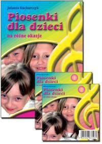 Okładka książki Piosenki dla dzieci na różne okazje