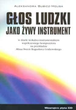 Okładka książki Głos ludzki jako żywy instrument