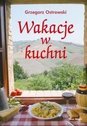 Okładka książki Wakacje w kuchni