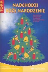 Okładka książki Nadchodzi Boże Narodzenie. Świąteczne wycinanki z papieru do zawieszenia w oknie