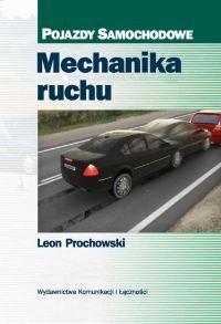 Okładka książki Mechanika ruchu