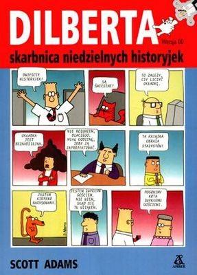 Okładka książki Dilberta skarbnica niedzielnych historyjek