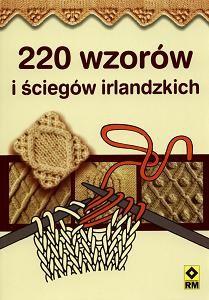 Okładka książki 220 wzorów i ściegów irlandzkich