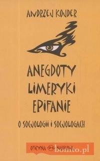 Okładka książki Anegdoty Limeryki Epitafia
