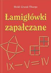 Okładka książki Łamigłówki zapałczane
