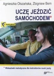 Okładka książki Uczę jeździć samochodem