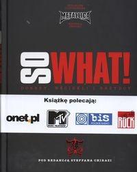Okładka książki Metallica So what