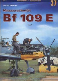 Okładka książki Messerschmitt Bf 109 E - Plewka Jakub